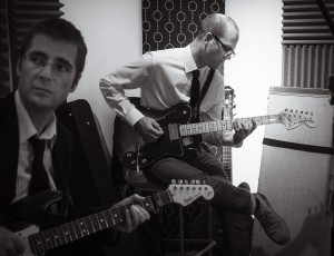 Mark and Mark in the Studio
